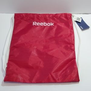 2/$20 NWT Reebok red gym Sak bag backpack